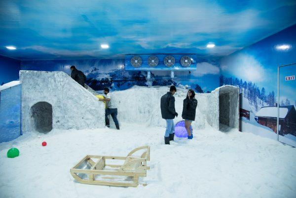 Snow World Celebration Mall