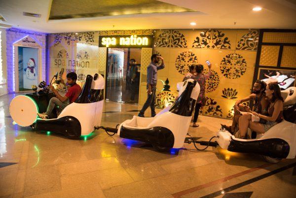 Polar Bear Ride, Celebration Mall