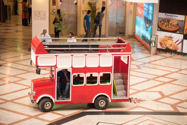London Bus Celebration Mall