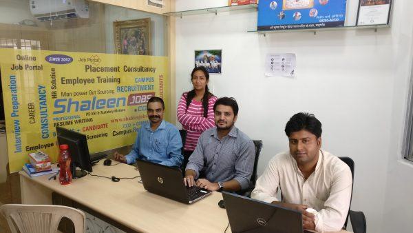 shaleen jobs team udaipur