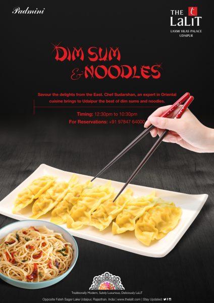 dim sum & noodles food festival udaipur