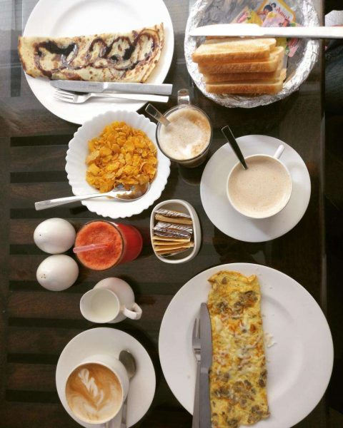English breakfast places in Udaipur