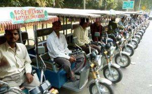 e rickshaw story