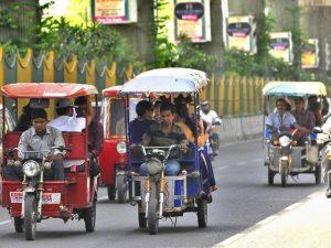 e-rickshaws