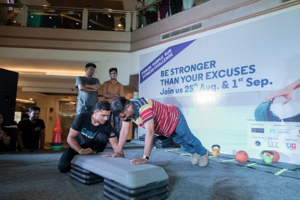 Fitness Challenge Event by Forum Celebration Mall Tested