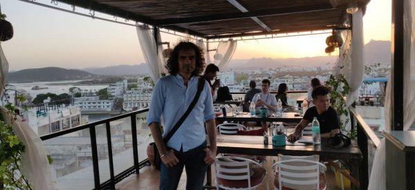 Imtiaz Ali in Udaipur for his next