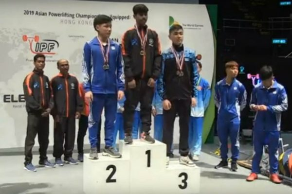 Gaurav Sahu won gold